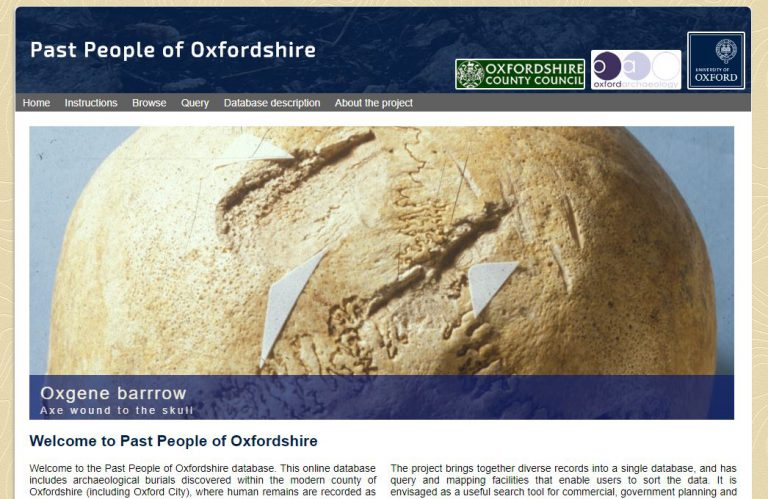 Past People of Oxfordshire